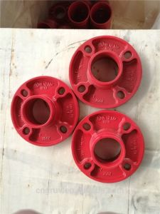 FM /UL Ductile Iron Grooved Fittings Grooved Flange pictures & photos