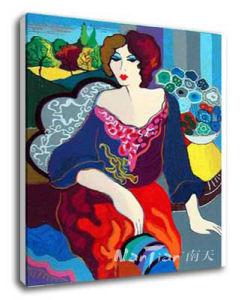 Portrait Oil Painting - Woman (E051)