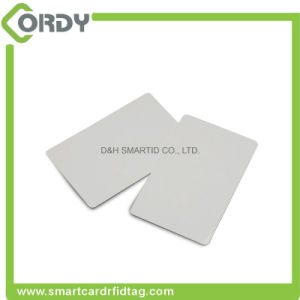 13.56MHz RFID Hf Blank ISO PVC Card with F08 Chip pictures & photos