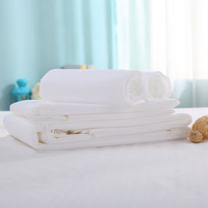 Non-Woven Disposable Bed Sheet for Hotel and Travel pictures & photos