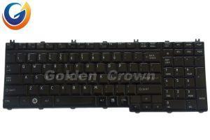 Laptop Keyboard for Toshiba Teclado P300 Layout Po Can FR IT US RU UK Black