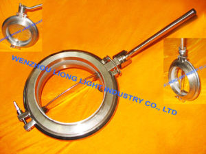 Stainless Steel Butterfly Steri Powder Valve pictures & photos