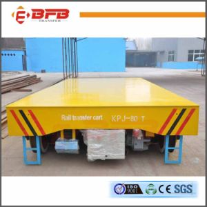 10t Electric Handling Trailer Applied in Steel Factory on Rail (KPJ-10T) pictures & photos