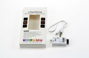 I-Flashdrivehd OTG Card Reader Support TF/SD Card for iPhone 6 Plus 5 5s iPad (OM-P902) pictures & photos