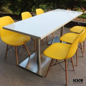 Bespoke 6 Seater Dining Table Set for Restaurant pictures & photos