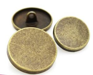 Clothing Accessory Metal Button with Oeko BV Intertek Certifications pictures & photos