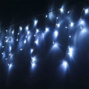 4m 120 Lamps Christmas LED Icicle Light for Indoor Decoration