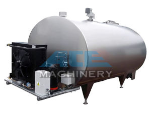 1000L Sanitary U Shape Milk Cooling Tank pictures & photos