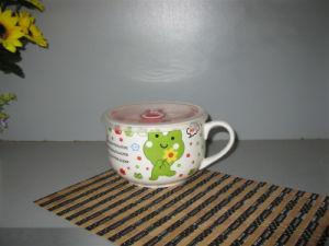 Porcelain Mug Rice Mug White Porcelain Mug (JCFB-039)