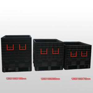 L1200*W1000*H760mm Heavy Duty Collapsible Pallet Container pictures & photos
