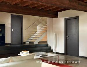 Beautiful Design Nature Flush Wood Veneer HDF Door pictures & photos