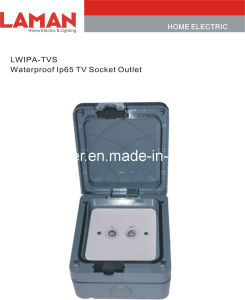 LWIPA-TVS IP65 Waterproof Television Socket Outlet