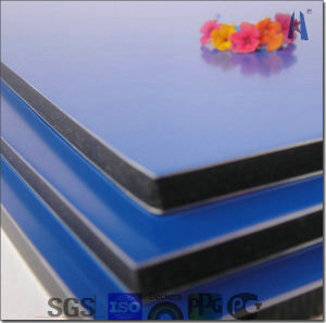 4mm PVDF Coating Curtain Wall Aluminum Composite Sheet pictures & photos