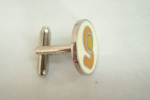 Imitation Hard Enamel Nickel Plating Cuff Link pictures & photos