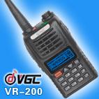 Hand Held 5 Watts Two Way Radio VR-200E With 8 Groups Scrambler