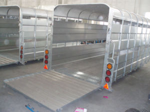 The Back of Livestock Trailer (GW-LT14) pictures & photos