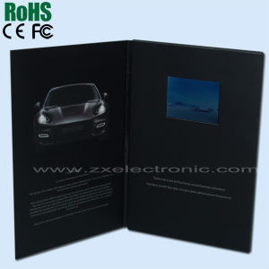 Promotional Video Brochure, Video Booklet for Advertising (ZXS-3271)