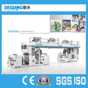 Plastic Film Dry Laminating Machine in Sale pictures & photos