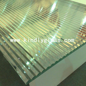 Grooved Laminated Glass