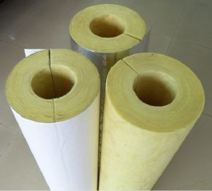 Glass Wool Pipe with Aluminum Foil Fiberglass Pipe pictures & photos