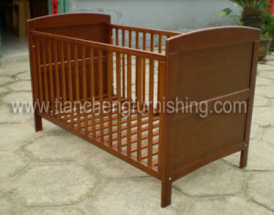 Solid Pine Cot Bed (TC8020)