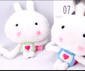 Plush Big Head Bunny