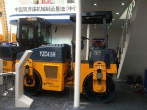 4.5 Ton Road Construction Machinery Vibratory Roller (YZC4.5H) pictures & photos