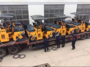 Road Machinery 4 Ton Vibratory Road Roller Construction Machinery (YZC4/YZDC4) pictures & photos