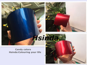 Custom Automotive High Gloosy Candy Effect Powder Coating pictures & photos