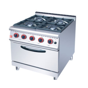 Gas Range with 4-Burner and Electric Oven pictures & photos