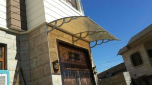 Easy DIY Pocarbonate Window Awning, Large PC Canopy for Door pictures & photos