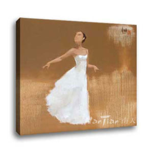 Figure & Nude Oil Painitng - Belle (T171)