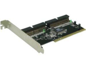 PCI 2-Channel Ultra ATA/133 IDE Host Controller Card