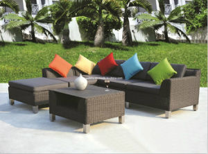 Garden Patio Doutdoor Wicker Rattan Sofa pictures & photos