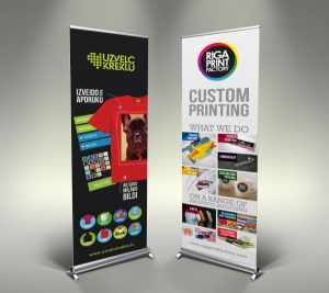 Factory Price Good Quality Double Sides Coated Smooth Roll up Vinyl Banner pictures & photos