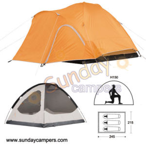 Outdoor Equipment 3 Person Mountaineering Tent pictures & photos