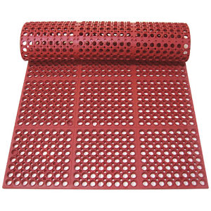 Non-Slip and Drainage Rubber Mats