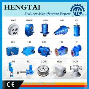 Concrete Mixer F Series Helical Gear Box pictures & photos
