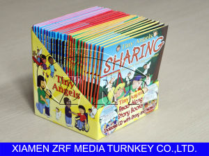 CD Replication Packaging With Hardcover Book in Cardboard PDQ Display pictures & photos