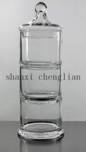 Clear Glass Apothecary Jars (BI-GAJ04) pictures & photos
