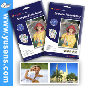 Crystal High Glossy Inkjet Photo Paper pictures & photos