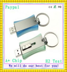 H2 Test USB Flash Drive with Key Chain (GC-K490) pictures & photos