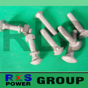 Bolt and Nuts for Fasteners Good Quality and Reasonable Price Overhead Power Fittings