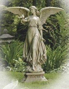 Natural Stone Classic Angel Garden Statue