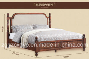 Modern Home Furniture Wood Bed/Professional Wood Bed/Classic Wood Bed Cx-Wb014 pictures & photos