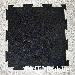 Inter-Lock Rubber Floor pictures & photos