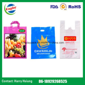Printing Plastic Bags, Shopping Vest Carrier Bag, Mail Bag, Die-Cut Patched Bag, Soft Loop Carrier Bag and PP Self-Adhesive Bag