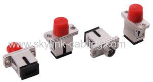 FC-SC/PC-Simplex-Singlemode Fiber Optic Adaptor pictures & photos