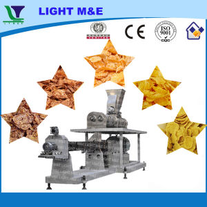 Automatic Stainless Steel Large Twin Screw Corn Flakes Extruder pictures & photos