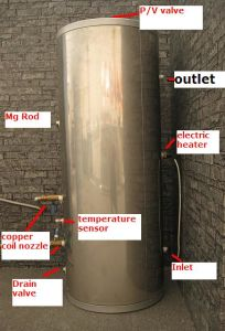 Solar Hot Water Tank pictures & photos